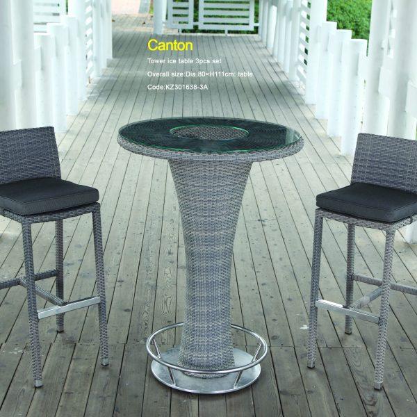 Canton Table Size:Dia.80xH111cm