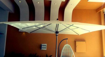 Types of umbrellas and canopies