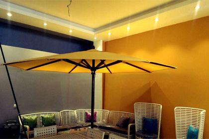 Umbrella and canopy