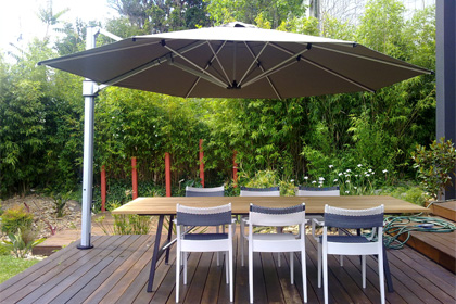 Shopping-items-umbrella-patio