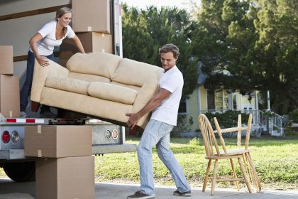 moving outdoor furniture