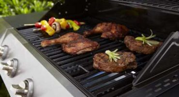 Maintaining barbecue and barbecue